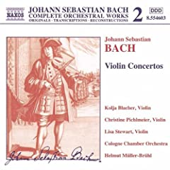 Violin Concerto in A minor, BWV 1041: I. Allegro