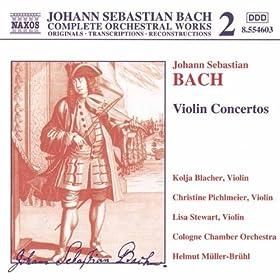 Violin Concerto in D minor, BWV 1052: II. Adagio