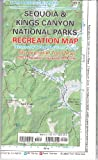 Sequoia & Kings Canyon National parks recreation map