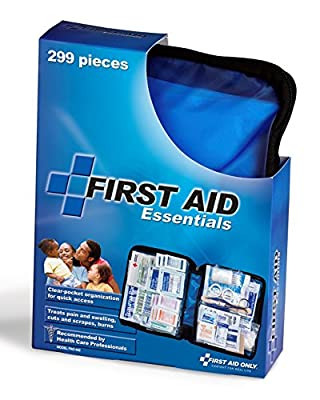 First Aid Only All-purpose First Aid Kit, Soft Case with Zipper, 299-Piece Kit, Large, Blue from First Aid Only