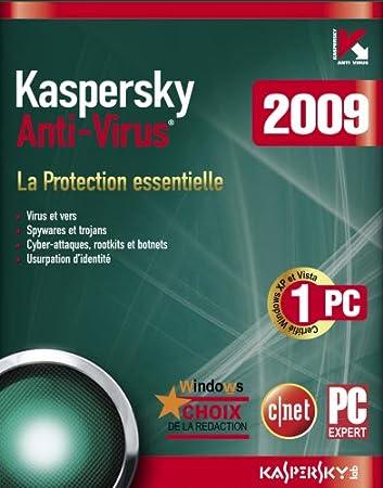 Kaspersky Anti-Virus 2009 (1 Poste /1 An)