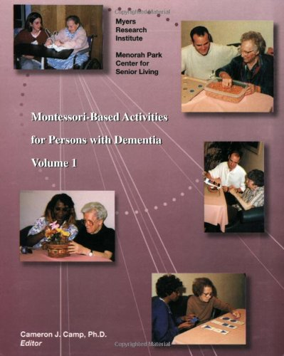 Montessori-Based Activities for Persons with Dementia PDF