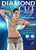 Diamond Cut Bellydance: Precision Technique & Practice for Beginners with Irina Akulenko 2-DVD Set - belly dance