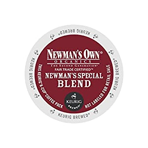 Keurig Newman's Own Organics Special Blend K-Cup Packs, 72 Count