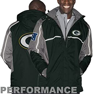 NFL Green Bay Packers Mens Frozen Tundra Systems Jacket by G-III Sports