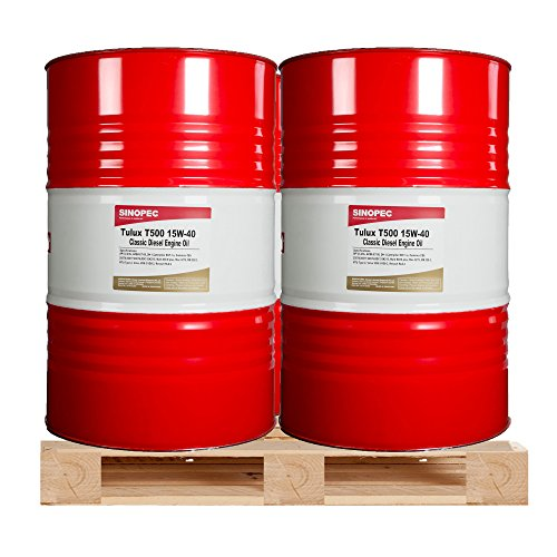 $375 Each - 15W40 Classic Diesel Engine Oil - (4) 55 Gallon Drums (Mobil 15w40 Diesel Oil compare prices)
