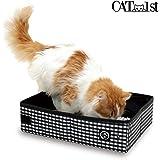Cat1st Portable Cat Litter Box//foldable/travel/drive/emergency/light Weight (Black)
