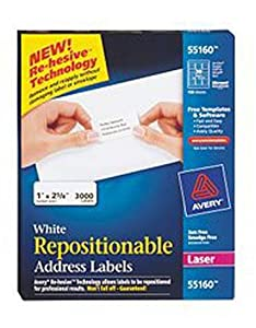 avery shipping labels 5160 avery easy peel white address labels for