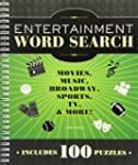 Entertainment Word Search: Movies, Mu...