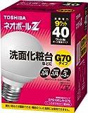 TOSHIBA ネオボールZ G70ボール電球形 40Wタイプ 電球色 EFG10EL/9-G70
