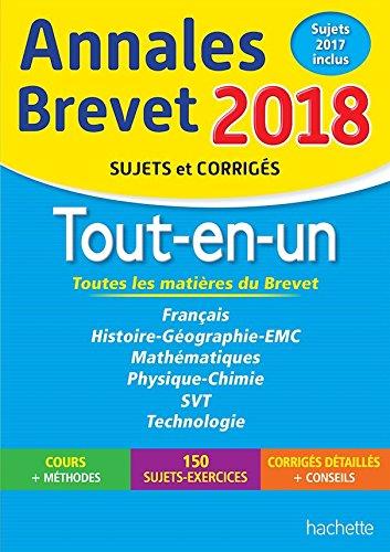 Annales Brevet 2017 le Tout-en-un 3e - Nouveau programme 2016  [Hachette] (Tapa Blanda)