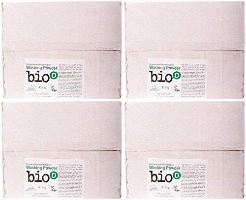 (4 PACK) - Bio-D Washing Powder   12.5.kg   4 PACK - SUPER SAVER - SAVE MONEY