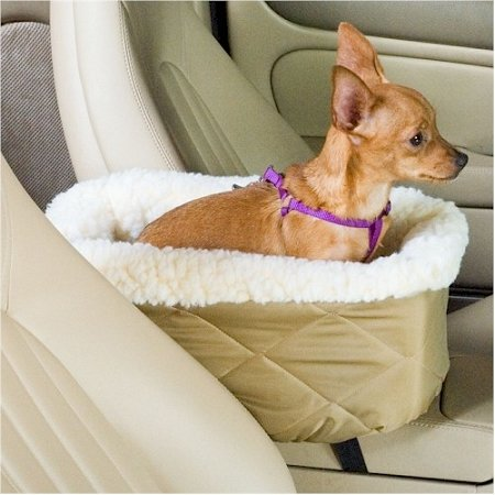 Lookout Console Pet Car Seat Fabric: Black Quilt, Size: Large (Up To 12 Lbs) front-8969