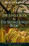 Image of The Jungle Book & The Second Jungle Book (Complete Edition with the Original Illustrations by John Lockwood Kipling): Classic of children's literature ... Plain Tales from the Hills, Soldier's Three