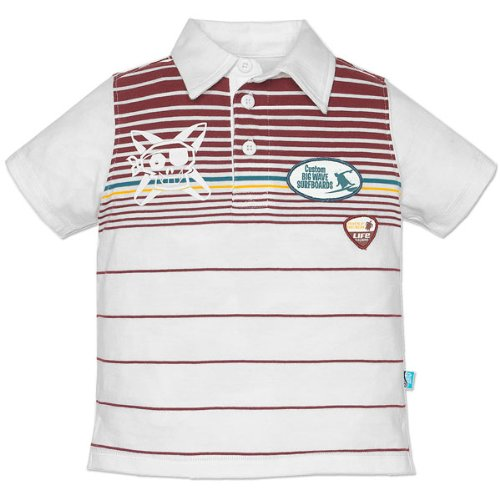 Marberry patch polo shirt