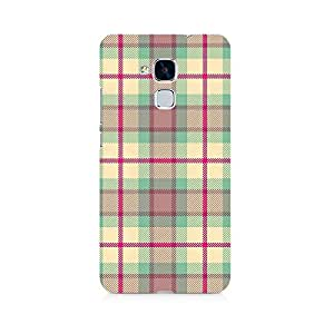 Mobicture Checks Love Premium Printed Case For Huawei Honor 5c