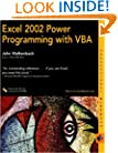 Excel 2002 Power Programming with VBA (Professional Mindware)