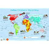 Collins Children's World Map (Collins Primary Atlases)