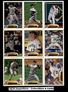 2012 Topps Pittsburgh Pirates Complete Master Team Set (Series 1,2, and Update) - 33... by 2012+Topps