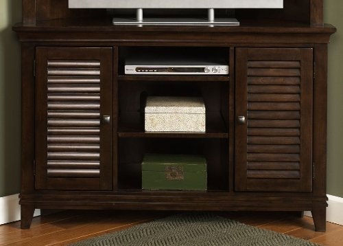 Cheap Corner Entertainment TV Stand by Liberty – Amaretto Finish (481-TV52) (481-TV52)