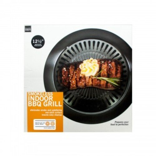 Indoor Grill Smokeless Bbq Stovetop Removable Plate Electric Gas Pan Best Recipe Cook Book Grills (Best Indoor Grill Pan compare prices)