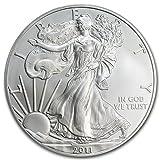 2011 - 1 oz American Silver Eagle .999 Fine Silver Dollar Uncirculated US Mint