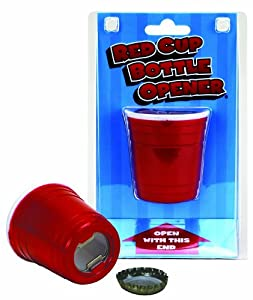 Big Mouth Toys Red Cup Bottle Opener