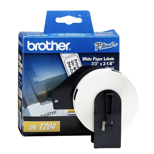 Brother DK-1204 Paper Label Roll - Retail Packaging