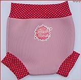 SplashAbout Neoprene Happy Nappy (Swim Nappy), Pale Pink with Dots