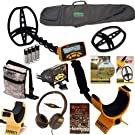 Garrett ACE 350 Adventure Pack Includes Camo Pouch, Carry Bag, Enviro Cover, Coil Cover, Relic Quest Book and Clear Sound Headphones