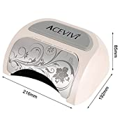 Acevivi 48w Automatic Induction Nail Polish Gel Art Tools