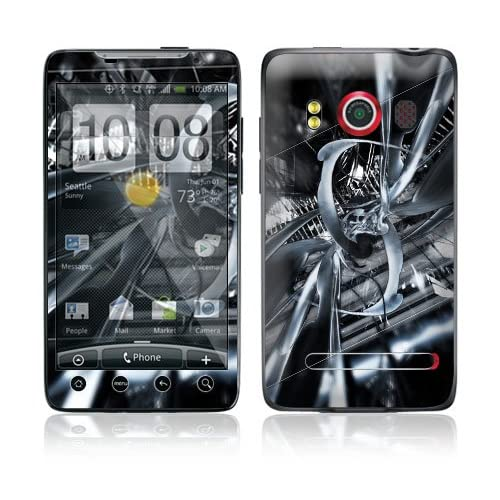 DNA Tech Protective Skin Cover Decal Sticker for HTC Evo 4G (Sprint) Cell Phone