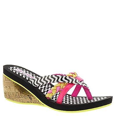 Skechers Girls' Lock N Key Beachy Braids Sandal