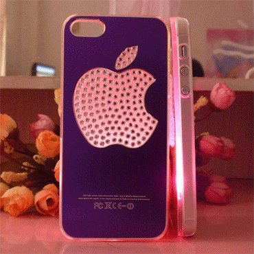 Flash Light Case Cover for Apple Iphone 5 LED