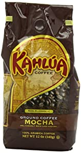 Kahlua Gourmet Ground Coffee, Mocha, 12 Ounce from White House Coffee