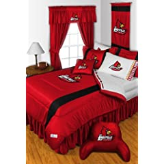 LOUISVILLE CARDINALS BUCKEYES FULL 15 PIECE BEDDING COMFORTER BED IN A BAG... by LOUISVILLE CARDINALS