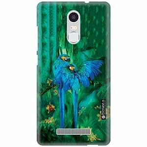 Printland Back Cover For Xiaomi Redmi Note 3 - Purple Designer Cases