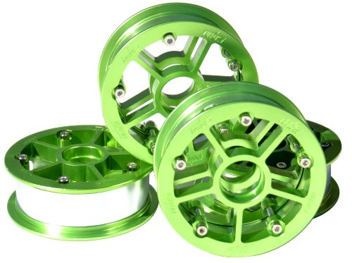 MBS Rock Star Pro Hub Set (4) - Green Alum.