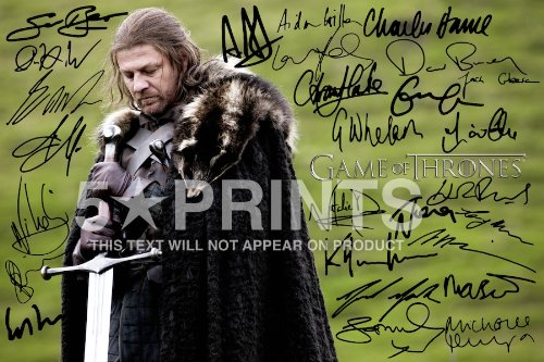 game-of-thrones-poster-photo-12x8-signed-pp-by-27-cast-emilia-clarke-kit-harrington-sean-bean-peter-
