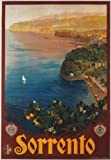 TV88 Vintage 1927 Sorrento Campania Italian Italy Travel Tourism Poster Re-Print - A4 (297 x 210mm) 11.7