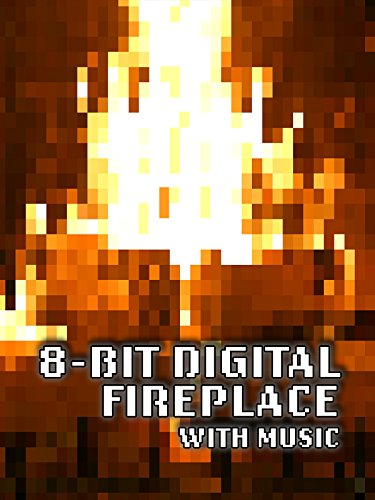 8-BIT Digital Fireplace with Music