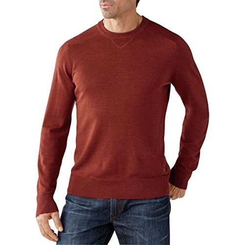 smartwool-kiva-ridge-crew-sweater-mens-moab-rust-heather-large-by-smartwool