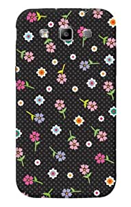 DailyObjects Polka Dot Flower Case For Samsung Galaxy Grand Quattro I8552 (Back Cover)