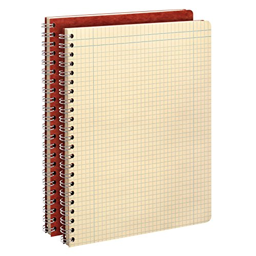 Ampad Computation Book, 4x4 Quad Ruled, 76 Sheets, Ivory, 11-3/4