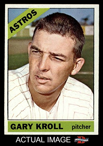 1966 Topps # 548 Gary Kroll Houston Astros (Baseball Card) Dean's Cards 7 - NM