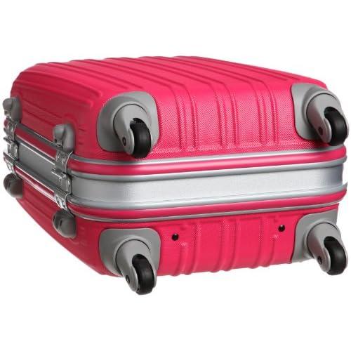 [ジェットエージ] JETAGE ウォッシュ ポリカーボネート製スーツケース SSサイズ(49.5cm) 74-20196 マゼンタピンク (マゼンタピンク)