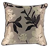 Scatterbox Wisteria Cushion Square Black/ivory
