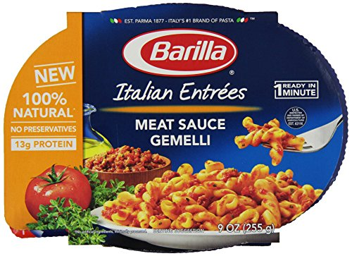 Barilla Gemelle With Meat Sauce, 9 Oz