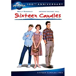 Sixteen Candles [DVD + Digital Copy] (Universal's 100th Anniversary)