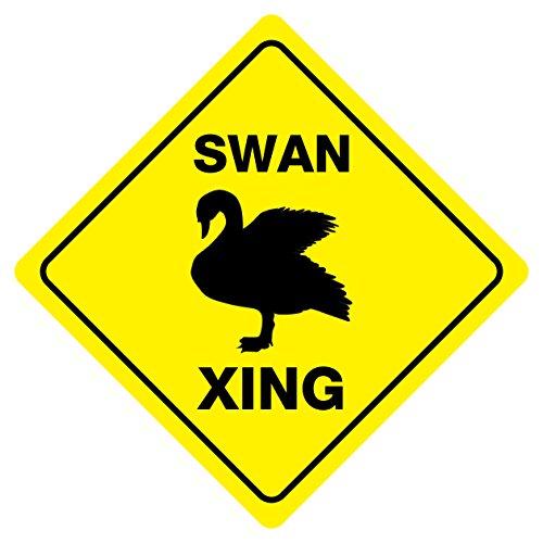 Swan Crossing Sign<br>12 Inch